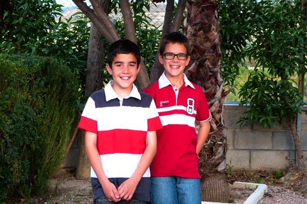 Capitanes Infantiles: Ernesto y Pedro Castell Almodóvar