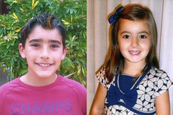 Capitán Infantil: Hugo García Sáez Abanderada Infantil: Marta Sáez Cascales