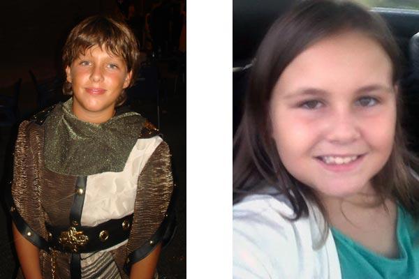 Capitán Infantil: Pablo Vico Soler Abanderada Infantil: Lidia Bejerano Pujalte