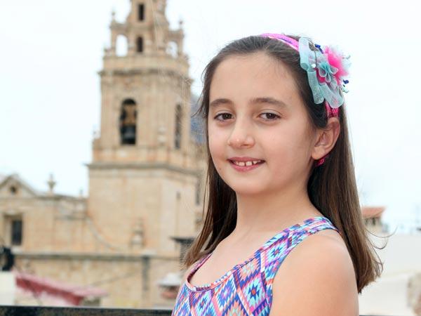 Abanderada Infantil: Ángela Espinosa Murcia