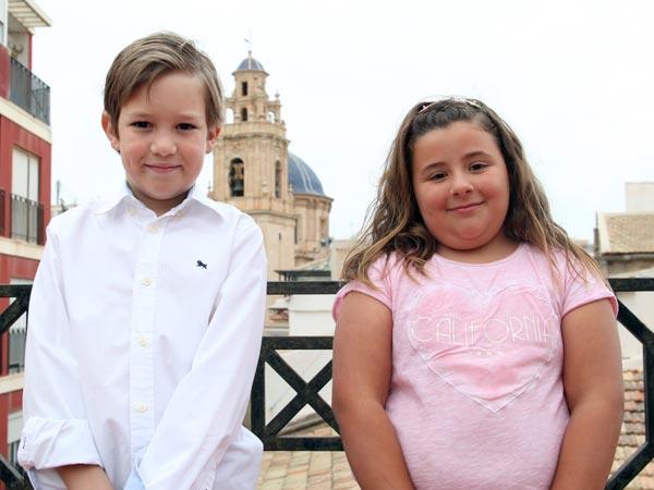Capitán Infantil: Manuel Martínez Sánchez Abanderada Infantil:  Inés Cerdán Cerdán