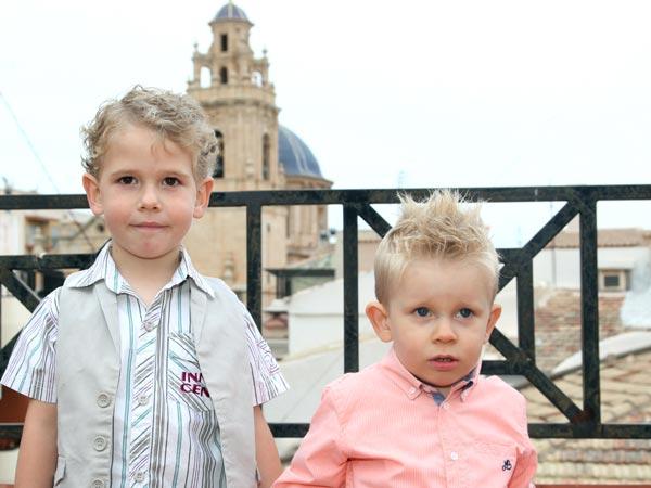 Sultanes Infantiles: Daniel Botella Navarro e Ilai Galiana Ortega