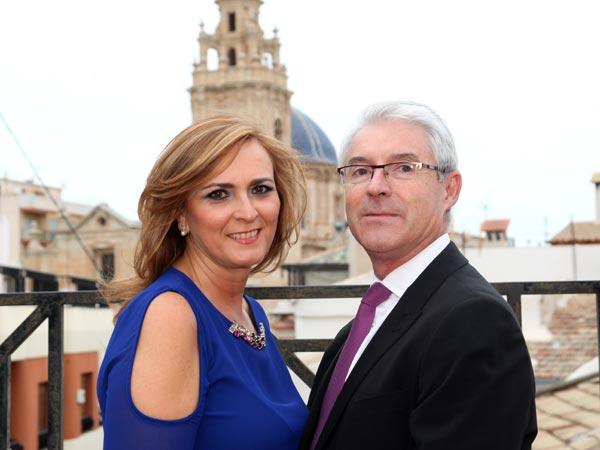 Rey: Enrique Alenda Galvañ Reina: Amparo Cerdán Mateo