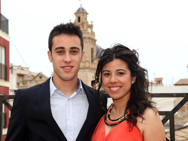 Capitán: Jose Domingo Mateo Botella Abanderada: Lidia Riquelme Villa