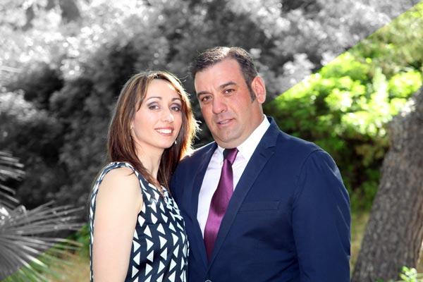 Abanderada y Capitán: Vanesa Cañizares Molina y Ginés Martínez Martínez