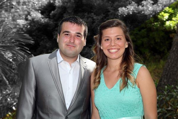 Capitán y Abanderada: Rubén Sánchez Carmona y Elena Catalayud Cerdán