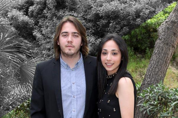 Capitán y Abanderada: Javier Caparrós Cerdán y Mª del Carmen Muñoz Pastor