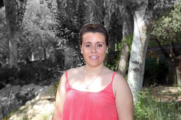 Abanderada: María de las Nieves Cerdán Rico