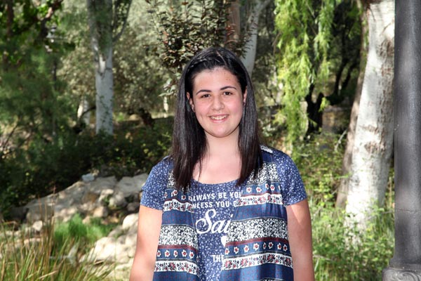 Abanderada infantil: Marta Gámez García