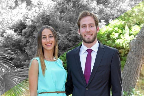 Reyes: Beatriz Martínez López y Miguel Caparrós Cerdán